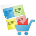 shopping list calculator icon
