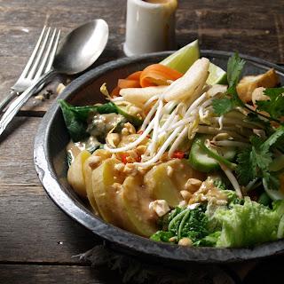 gado gado – an Indonesian salad.