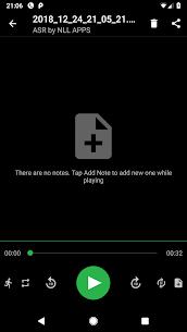 Gravador grátis de áudio MP3 ASR [Pro Unlocked] 5