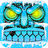 Temple Frozen Escape Run 3D