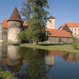 Vodní hrad Švihov by Helena Jirasová - Buildings & Architecture Public & Historical ( vodní hrad švihov )
