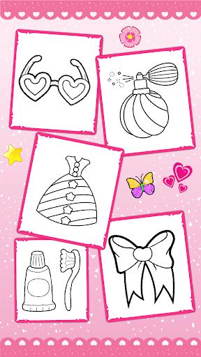 Glitter beauty coloring and drawing screenshot 5
