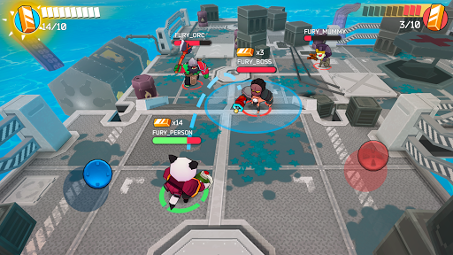 Fury Wars - online shooting game, third person. apktram screenshots 19