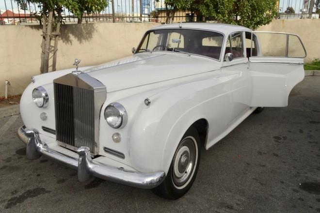 Rolls-Royce Silver-Cloud Hire California