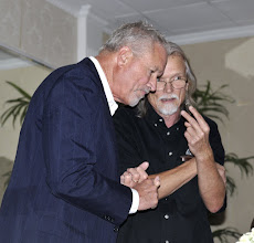 Photo: VFP President Barry Ladendorf with staffer Doug Zachary