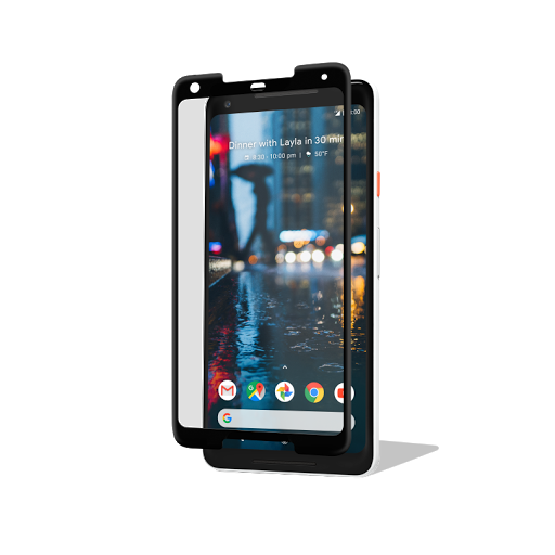 Power Support Tempered Glass Film for Pixel 2