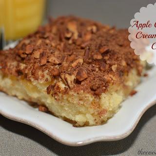 Apple Cinnamon Cream Cheese Cake