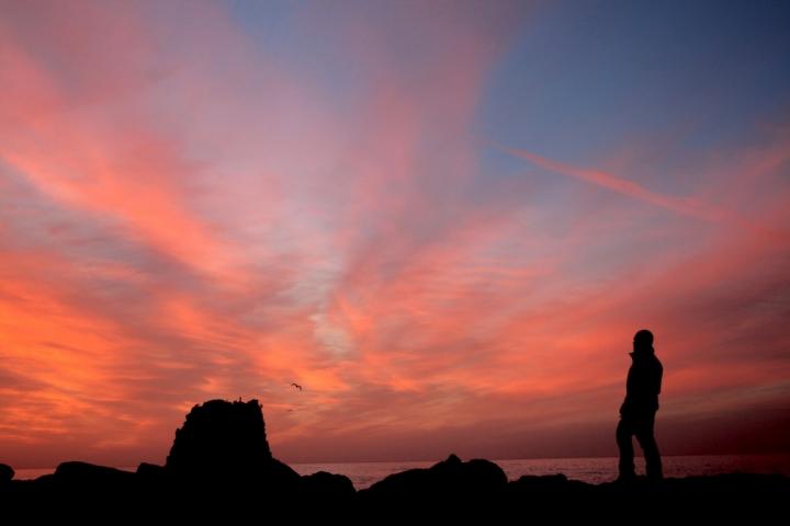 L'uomo ed il suo tramonto piu bello di *winnie*
