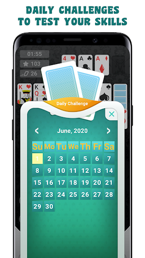 Solitaire Classic Card Game android2mod screenshots 4