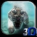 Tiger Video Live Wallpaper icon