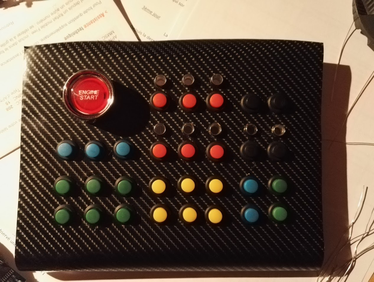 I Wanted To Share With You My USB ButtonBox Which Made Project Cars On PS4 In Mind