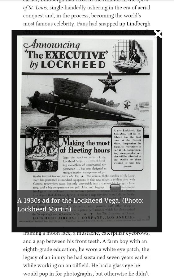 the Atavist Magazine - screenshot