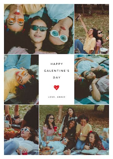 Love, Annie - Valentine's Day Card template