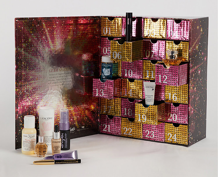 Glam Sparkle Advent Calendar.
