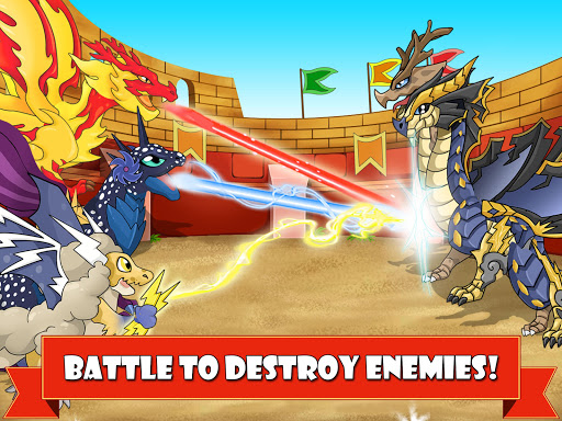 Dragon Battle: Dragons fighting game 9.34 screenshots 2