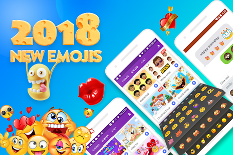 App Smiley Emoji Keyboard 2018 - Cute Emoticons APK for Windows Phone