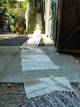 Photo: Kori's saori  dress fabric