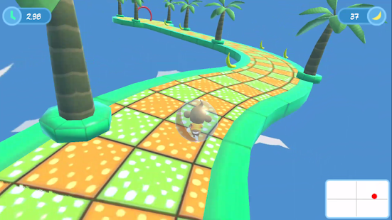 Monkey Balance Ball- screenshot thumbnail