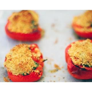 Roasted Stuffed Peppers.