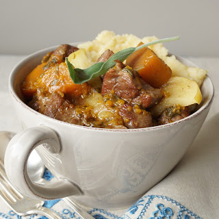 Lamb Stew with Butternut, Apples and Ginger Recipe