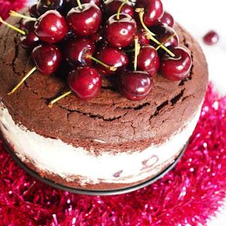 Cherry Cheesemas Chocolate Mud Cake