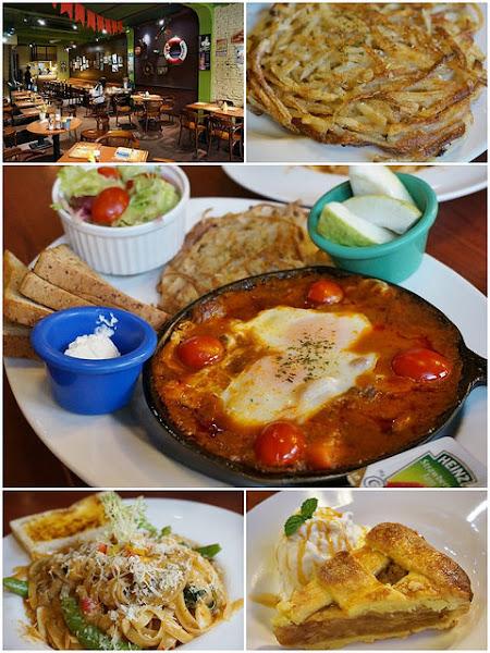 Michino Diner米奇諾美式早餐(民族店)-經典大份量美式早午餐
