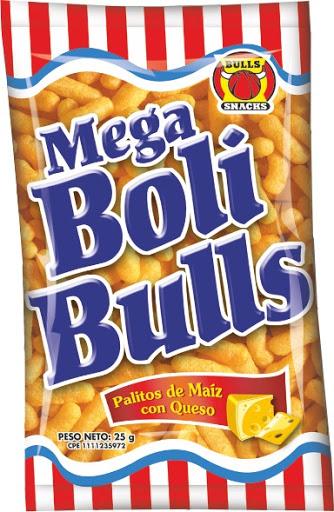 snack boli bulls 25gr