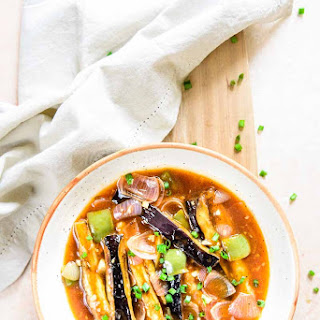 Chinese Sweet and Sour Eggplant Recipe