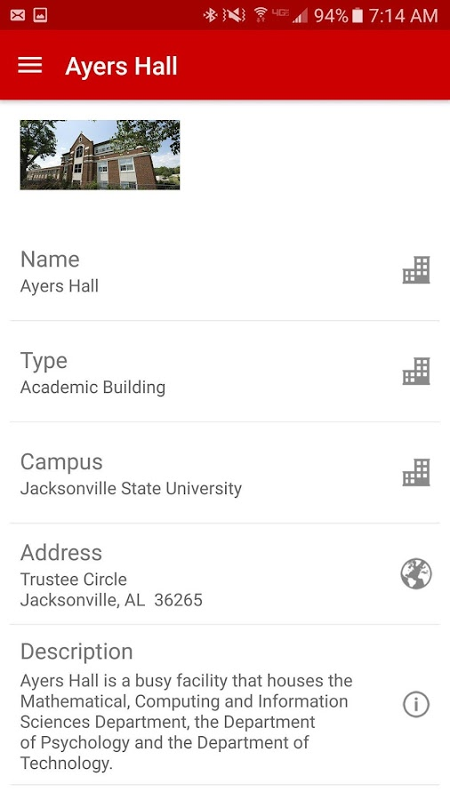 MyJSU Mobile- screenshot