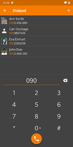 Screenshot for Simple Contacts Pro in United States Play Store