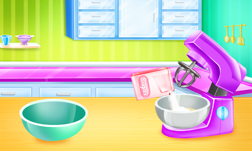 Cooking cake bakery shop Screenshot