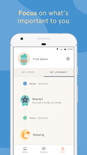 Headspace: Guided Meditation & Mindfulness-skjermdump – miniatyrbilde