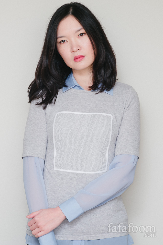 DIY Square on a Tee - DIY Fashion Garments | fafafoom.com