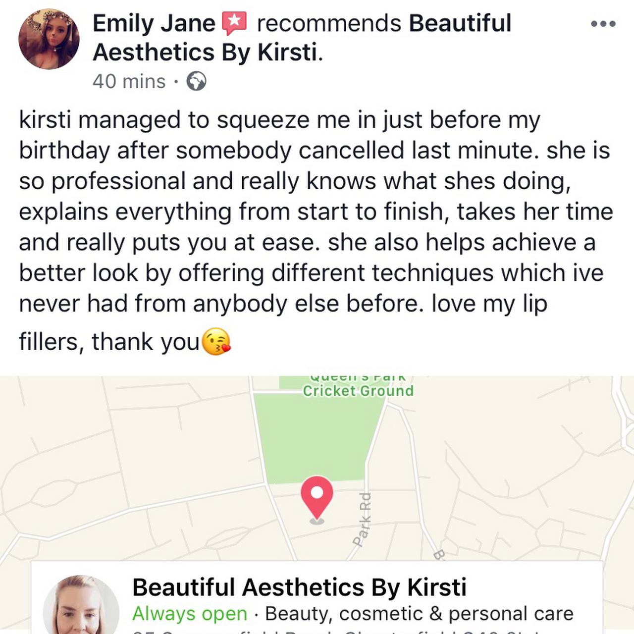 Beautiful Aesthetics by Kirsti Lip Fillers & Botox - Skin