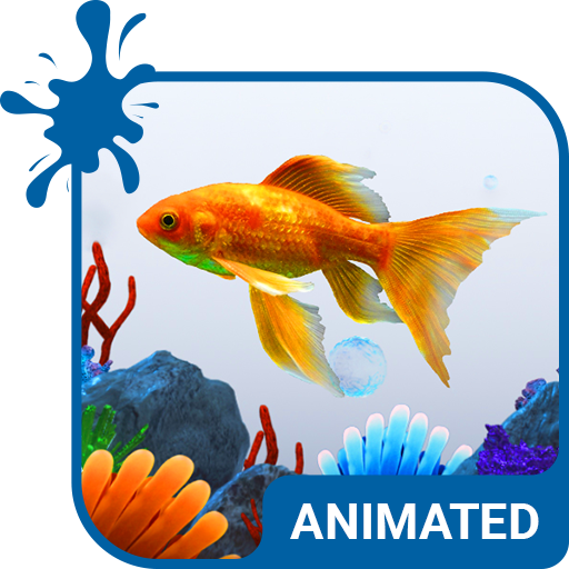 Aquarium Animated Keyboard + Live Wallpaper