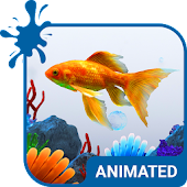 Aquarium Animated Keyboard