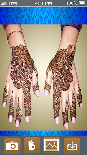 Mehndi Design Photo Editor - Henna Mehndi Stickers