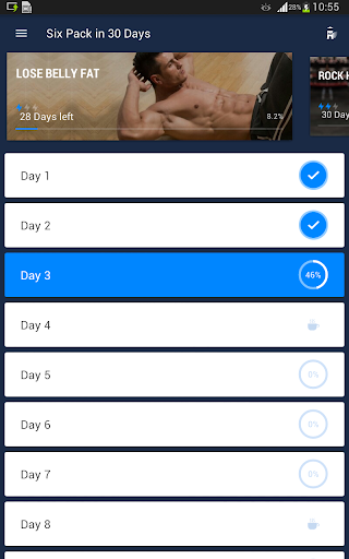 Six Pack in 30 Days - Abs Workout 1.0.2 screenshots 12