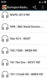 Burlington Radio USA - náhled
