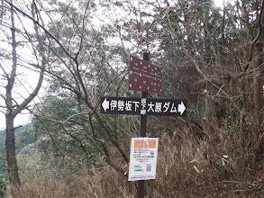 坂下峠に到着