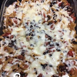 Mexican Pasta Bake Ingredients