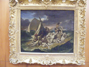Photo: A small study for the larger version of Gericault's Raft of the Medusa stood out for Ash from her art history class.