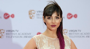Roxanne Pallett airlifted to hospital after horror smash