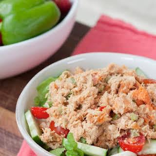 No Mayo Sweet Potato Tuna Salad.