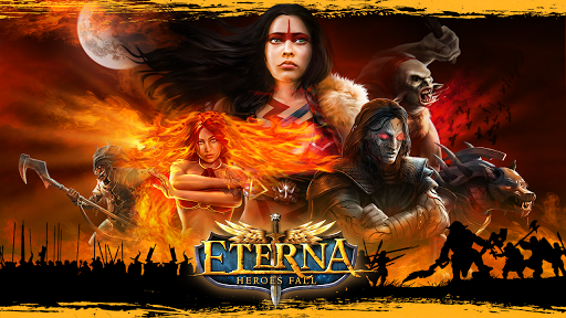 Eterna: Heroes Fall - Deep RPG  captures d'écran 1