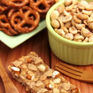 Peanut Butter Pretzel Bars (Clif Mojo™ Copycat)