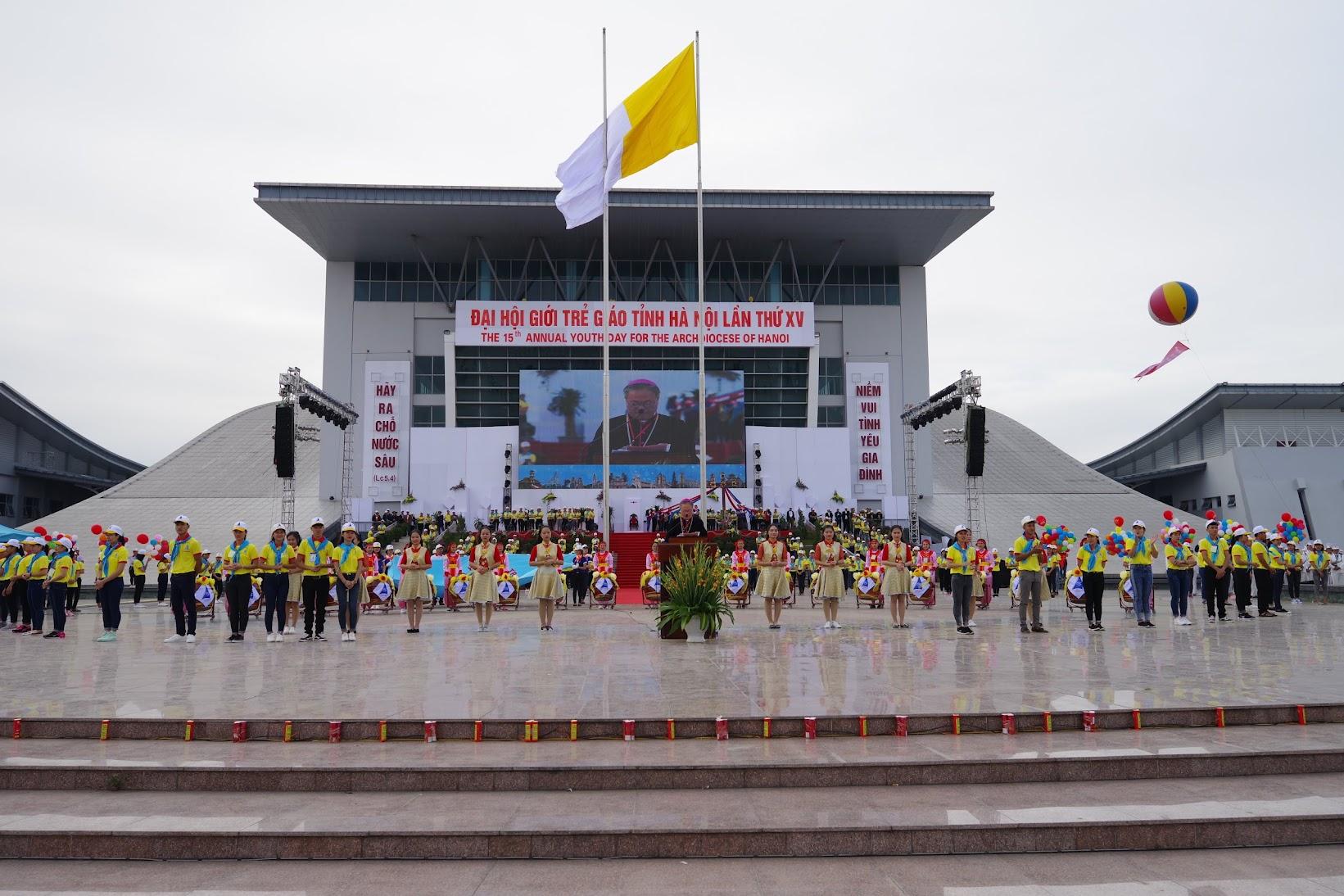 Những hình ảnh đẹp về lễ khai mạc Đại Hội Giới Trẻ giáo tỉnh Hà Nội lần thứ XV tại Thanh Hóa - Ảnh minh hoạ 44