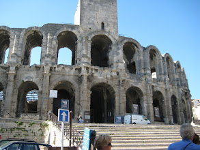Photo: The Colosseum in Arles.