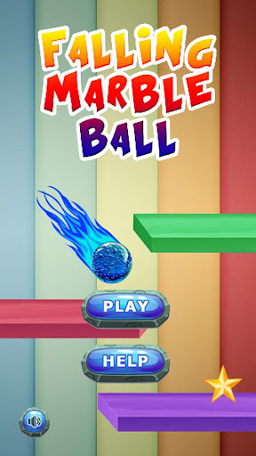 Falling Marble Ball