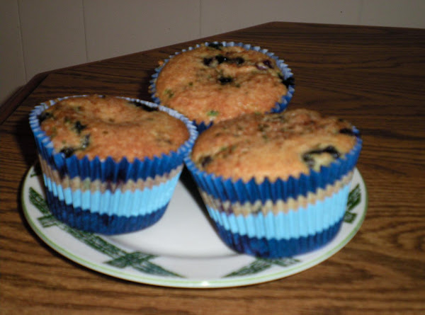Mammoth Blueberry Muffins Recipe